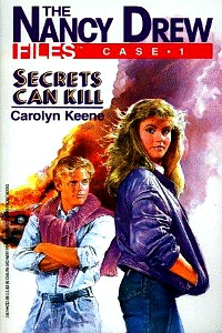 """Thumbnail image for Nancy Drew Files #001 """"Secrets Can Kill"""" – And so can banging your head against a wall."""