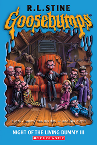 "Goosebumps #040 ""Night of the Living Dummy III"" – Or the one where we all scream in horror. thumbnail"