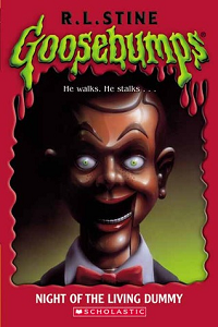 "Thumbnail image for Goosebumps #007 ""Night of the Living Dummy"" – Or where the hell is Slappy in this damn book?!"