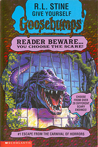 "Thumbnail image for Give Yourself Goosebumps #01 ""Escape From the Carnival of Horrors"" – Adult Choices"